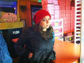 October 2010, Voodoo Donuts, Portland