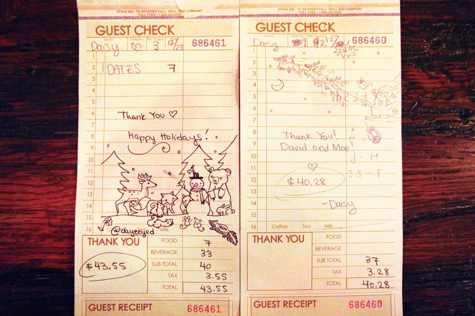 Daisy's Check Drawings