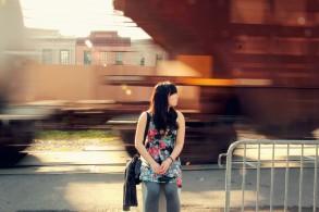 Train near MississippiRiver