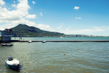 Boats at Tamsui Fisherman's Wharf